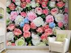 Флизелиновые фотообои Colorful flowers 360x270 см ED-90667