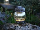 LED сова с солнечной панелью AA-90671