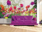 Флизелиновые фотообои Tulips and peonies 360x270 см ED-90697
