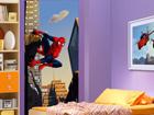 Флизелиновые фотообои Spiderman and the city 90x202 см ED-90985