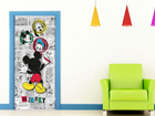 Флизелиновые фотообои Disney Mickey draws 90x202 см ED-90999