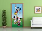 Флизелиновые фотообои Disney Mickey on a rope 90x202 см ED-91002