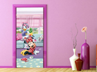 Флизелиновые фотообои Disney Minnie and Daisy dancing 90x202 см ED-91003