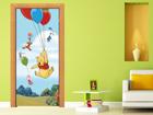 Флизелиновые фотообои Disney Winnie the Pooh flies 90x202 см ED-91004