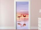 Флизелиновые фотообои Flamingos 90x202 см ED-91078