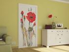Флизелиновые фотообои Watercolor poppies 90x202 см ED-91121