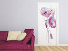 Флизелиновые фотообои Watercolor poppies 90x202 см ED-91145