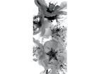 Флизелиновые фотообои Black and white flower 90x202 см ED-91147