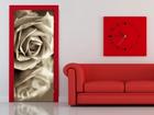 Флизелиновые фотообои Black and white rose 90x202 см ED-91148