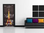 Флизелиновые фотообои Eiffel Tower at night 90x202 cм ED-91443