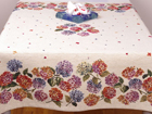 Скатерть из гобелена Hortensiad 100x100 см TG-92082