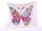 Декоративная подушка из гобелена бабочка 45x45 cm TG-92114