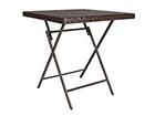 Складной садовый стол Nico 70x70 cm EV-92256