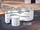 Журнальный стол со стеклом Saphira AY-93498