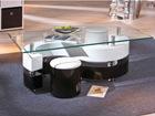 Журнальный стол со стеклом Serena AY-93504