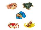 3D пазл Морские животные 4 шт UP-93772