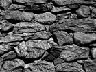 Флизелиновые фотообои Black stone wall 360x270 см ED-94865
