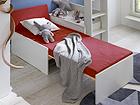 Раскладная тумба / дополнительная кровать + ящик Nora CM-95122