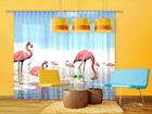 Затемняющее фотошторы Flamingos 280x245 см ED-95348