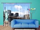 Затемняющее фотошторы Statue of Liberty 280x245 см ED-95349