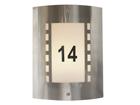 Светильник для подсветки номера дома Wall