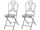 Складной садовый стул Romantic, 2 шт AQ-96240