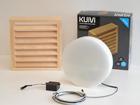 LED светильник в баню с деревянной решёткой Kuivi LY-96672