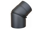 Колено дымовой трубы поворотное 0-45º