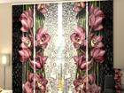 Полузатемняющая панельная штора A Drop of Beauty 240x240 см ED-97516