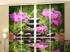 Полузатемняющая панельная штора Orchids in the Garden 240x240 см ED-97592