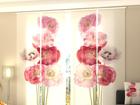 Просвечивающая панельная штора Scarlet Song 240x240 см