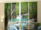 Полузатемняющая панельная штора Thai Waterfall in Spring 240x240 см ED-97637