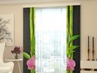 Полузатемняющая панельная штора Orchids and Bamboo 80x240 cm ED-97803