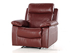 Кожаное кресло с механизмом подножки Equador AQ-97915