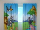 Затемняющая штора Cute African animals 240x220 cm ED-97928