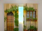 Затемняющая штора Flowers by the door 240x220 cm ED-97951