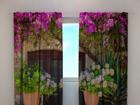 Полузатемняющая штора Flowers in pots 240x220 cm ED-97953