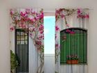 Затемняющая штора Flowers on the window 240x220 cm ED-97961