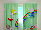 Затемняющая штора Helicopter over the rainbow 240x220 cm ED-98180