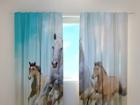 Затемняющая штора Horses 240x220 cm ED-98195