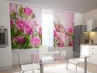 Просвечивающая штора Pink Overtones 200x120 см ED-98298