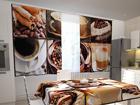 Просвечивающая штора Coffee 1, 200x120 см ED-98324