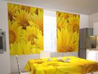 Полузатемняющая штора Sunflowers in the kitchen 200x120 см ED-98329