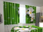 Полузатемняющая штора Bamboo in the kitchen 200x120 см ED-98344