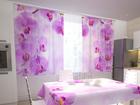 Просвечивающая штора Kitchen in orchids 200x120 см ED-98347
