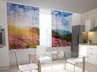 Полузатемняющая штора Flowers and mountains 200x120 см ED-98414