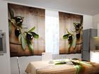 Просвечивающая штора Black olives in the kitchen 200x120 см ED-98416