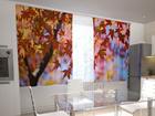 Просвечивающая штора Maple leaves in the kitchen 200x120 см ED-98421