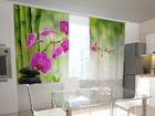 Просвечивающая штора Crimson orchids in the kitchen 200x120 см ED-98436