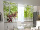 Просвечивающая штора Flower on the window sill 200x120 см ED-98454